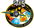 SPACE X CRS-5