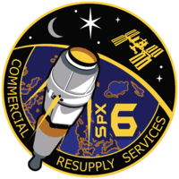 SPACE X CRS-6