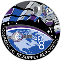 SPACE X CRS-8
