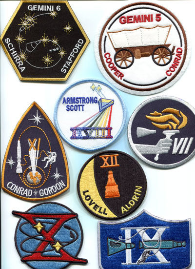 NASA Space Mission Patches