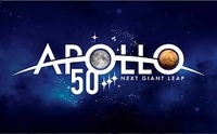 APOLLO 50TH ANNIVERSARY PATCH WITH VELCRO