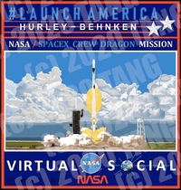VIRTUAL NASA LAUNCH FOR OVERSEAS ORDERS